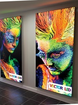 Vector LED Wall Mounted Lightbox
