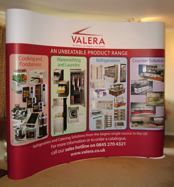 Valera Pop-Up Stand