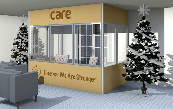 Vector Care Home Booth